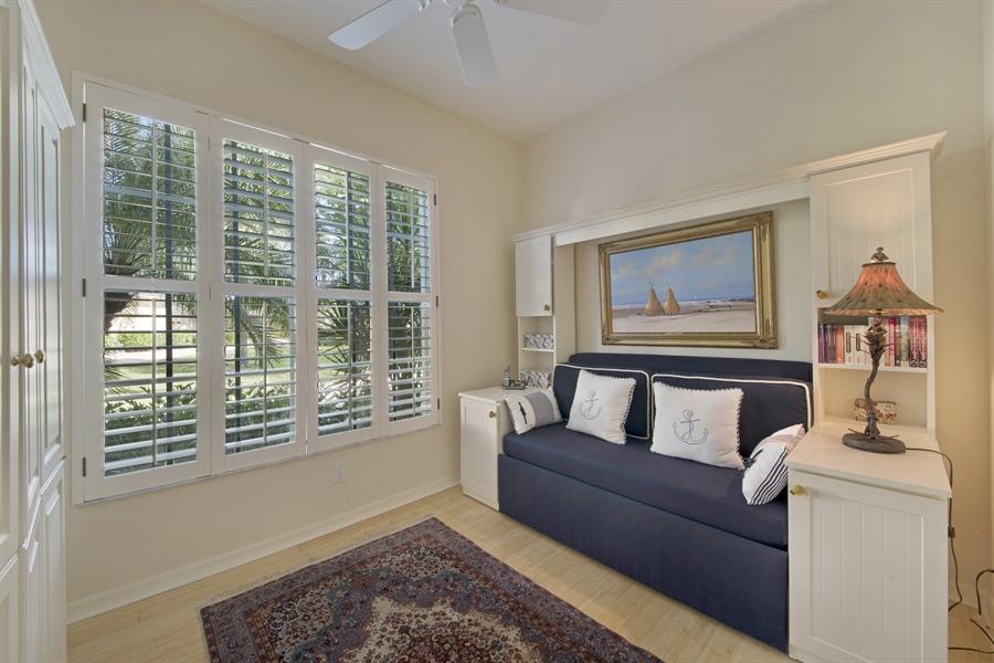 Real Estate Photography - 1905 Sevlle Blvd, Apt 312, Naples, FL, 34109 - 3rd Bedroom