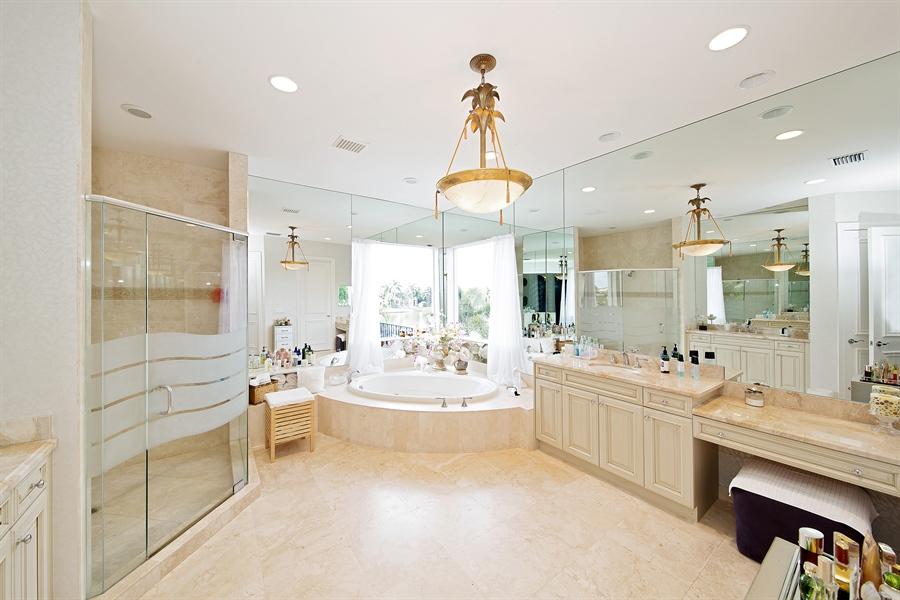 Real Estate Photography - 9556 Bridgebrook Dr, Boca Raton, FL, 33496 - Master Bathroom