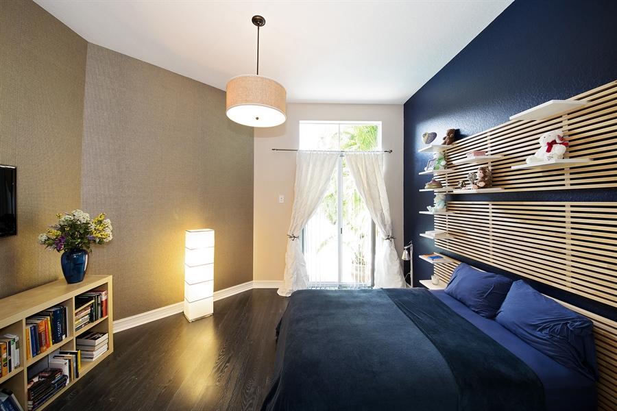 Real Estate Photography - 9556 Bridgebrook Dr, Boca Raton, FL, 33496 - Guest Bedroom