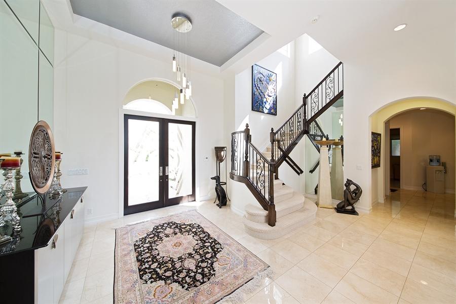 Real Estate Photography - 9556 Bridgebrook Dr, Boca Raton, FL, 33496 - Foyer