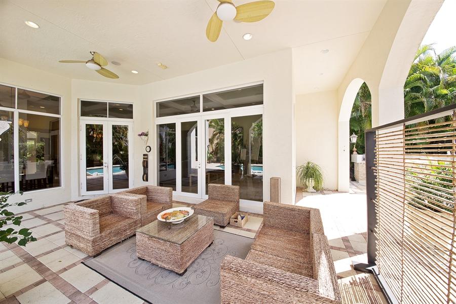 Real Estate Photography - 9556 Bridgebrook Dr, Boca Raton, FL, 33496 - Porch