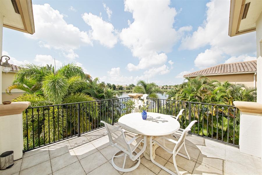 Real Estate Photography - 9556 Bridgebrook Dr, Boca Raton, FL, 33496 - Patio