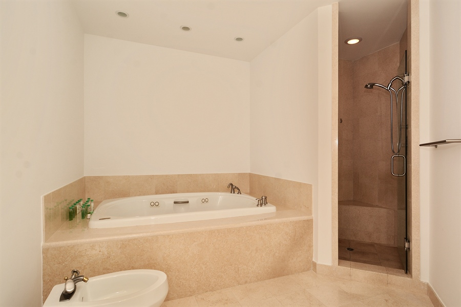 Real Estate Photography - 20155 NE 38th Ct, Apt 2103, Aventura, FL, 33180 - Her Bathroom