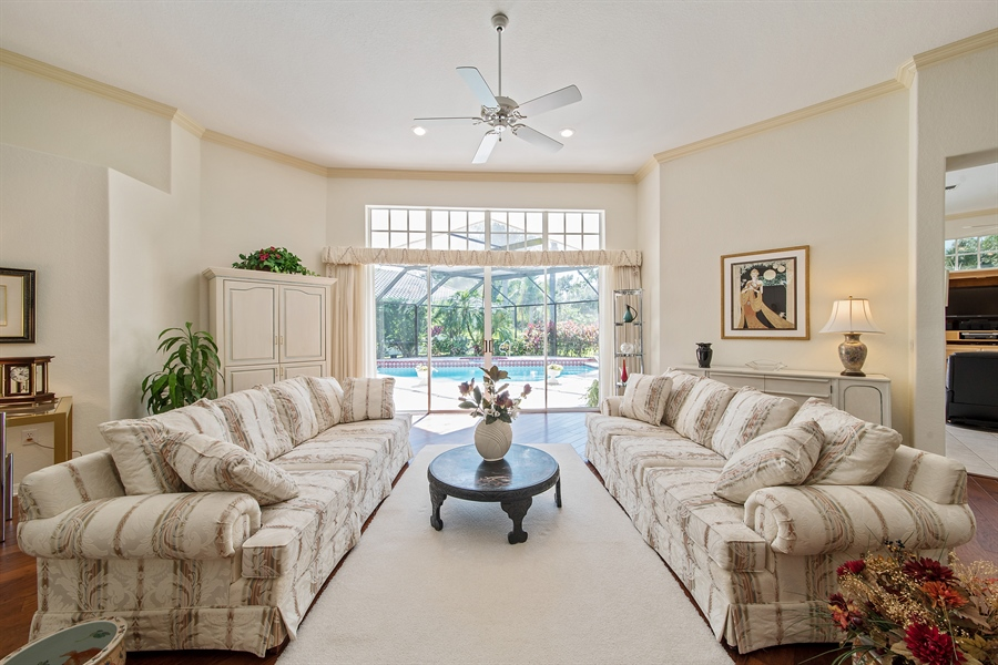Real Estate Photography - 3561 Quill Leaf Ct, Bonita Springs, FL, 34134 - Living Room