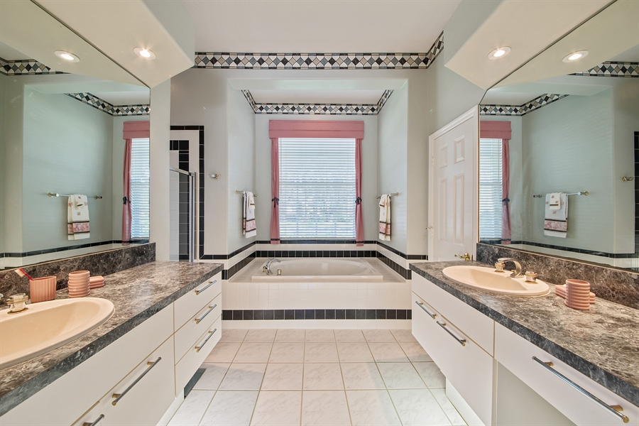 Real Estate Photography - 3561 Quill Leaf Ct, Bonita Springs, FL, 34134 - Master Bathroom