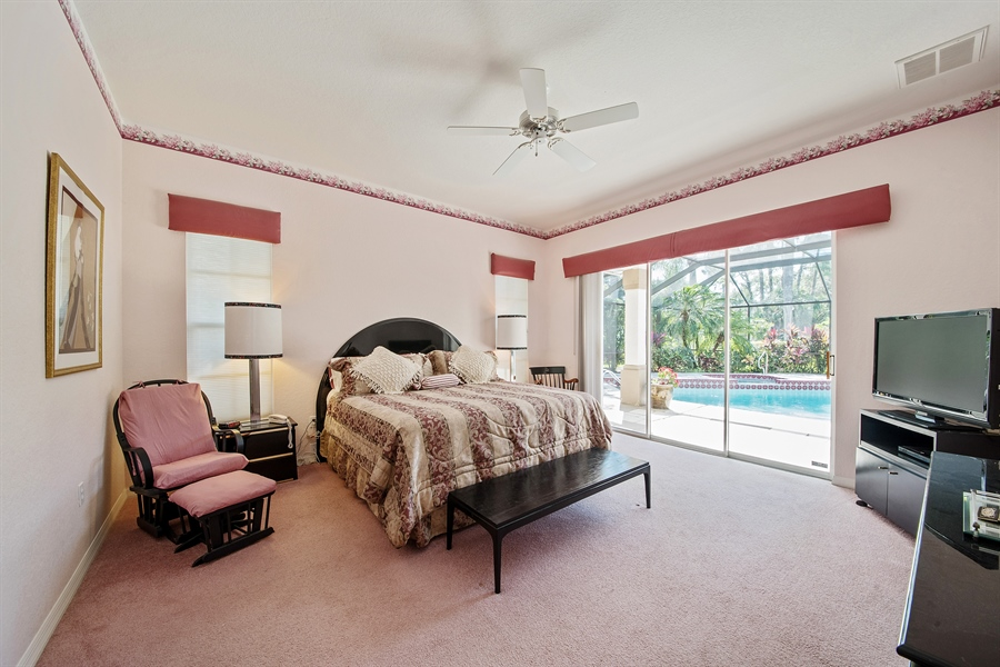 Real Estate Photography - 3561 Quill Leaf Ct, Bonita Springs, FL, 34134 - Master Bedroom