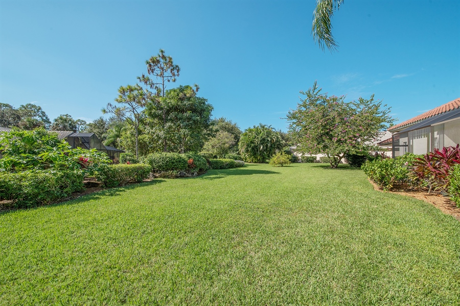 Real Estate Photography - 3561 Quill Leaf Ct, Bonita Springs, FL, 34134 - Back Yard