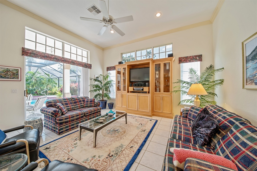 Real Estate Photography - 3561 Quill Leaf Ct, Bonita Springs, FL, 34134 - Family Room