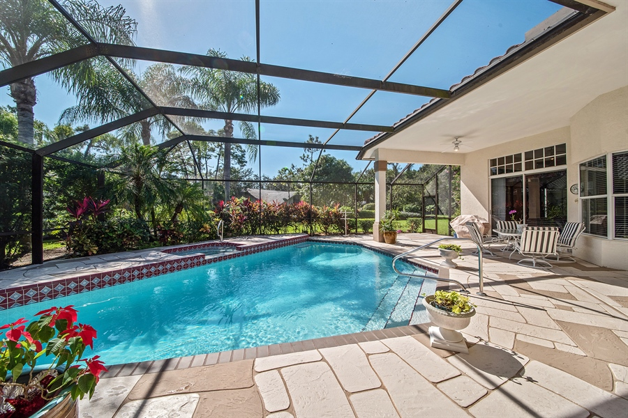Real Estate Photography - 3561 Quill Leaf Ct, Bonita Springs, FL, 34134 - Pool/Spa