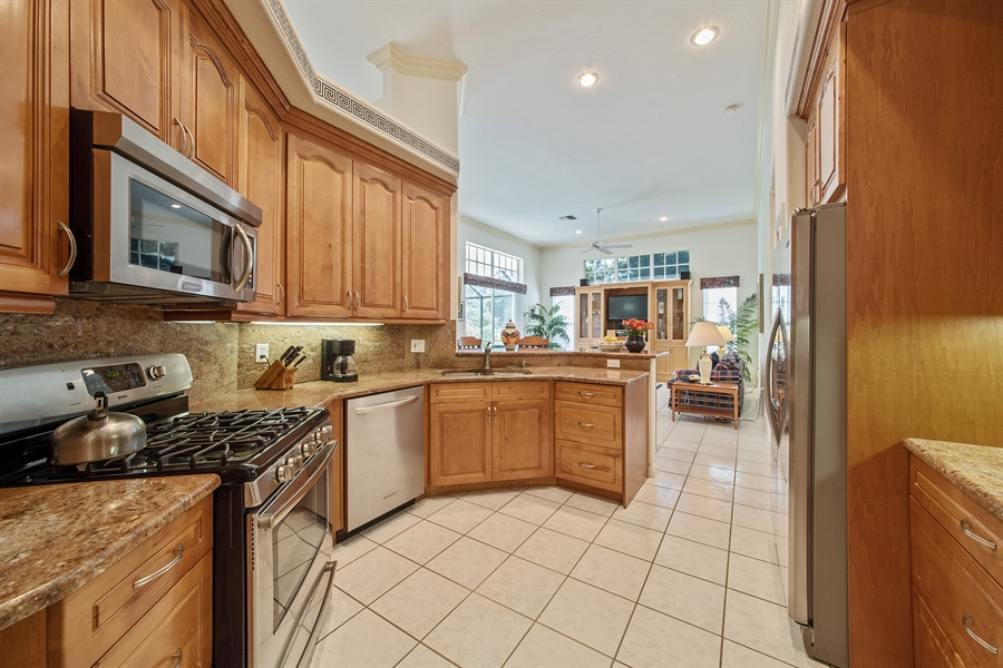 Real Estate Photography - 3561 Quill Leaf Ct, Bonita Springs, FL, 34134 - Kitchen