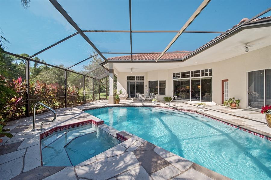 Real Estate Photography - 3561 Quill Leaf Ct, Bonita Springs, FL, 34134 - Lanai