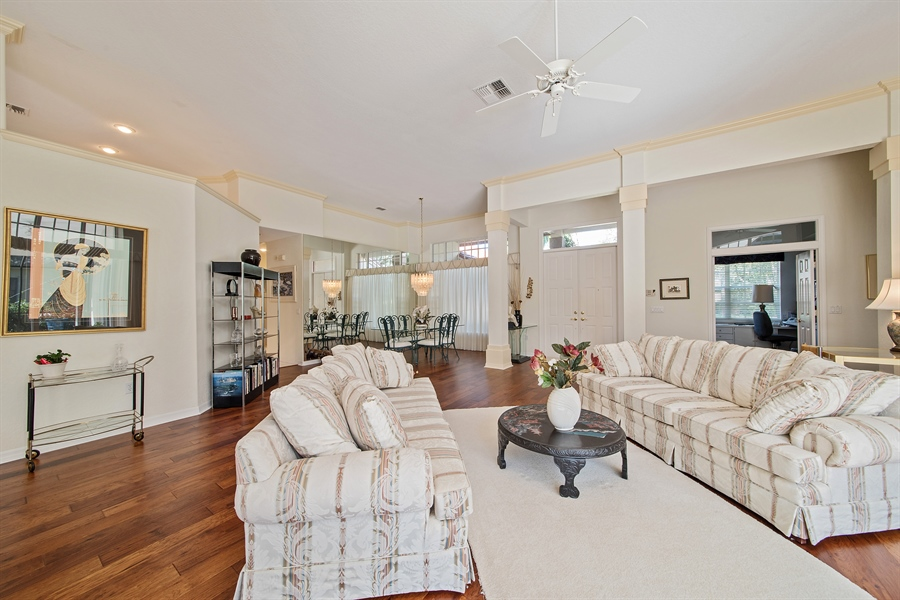 Real Estate Photography - 3561 Quill Leaf Ct, Bonita Springs, FL, 34134 - Living Room / Dining Room