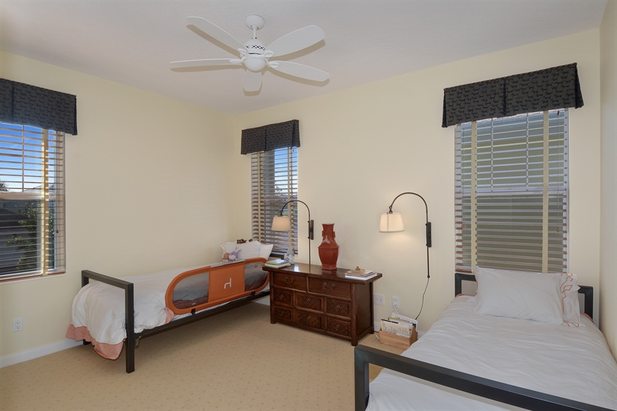 Real Estate Photography - 102 Castries Drive, Jupiter, FL, 33458 - 2nd Bedroom