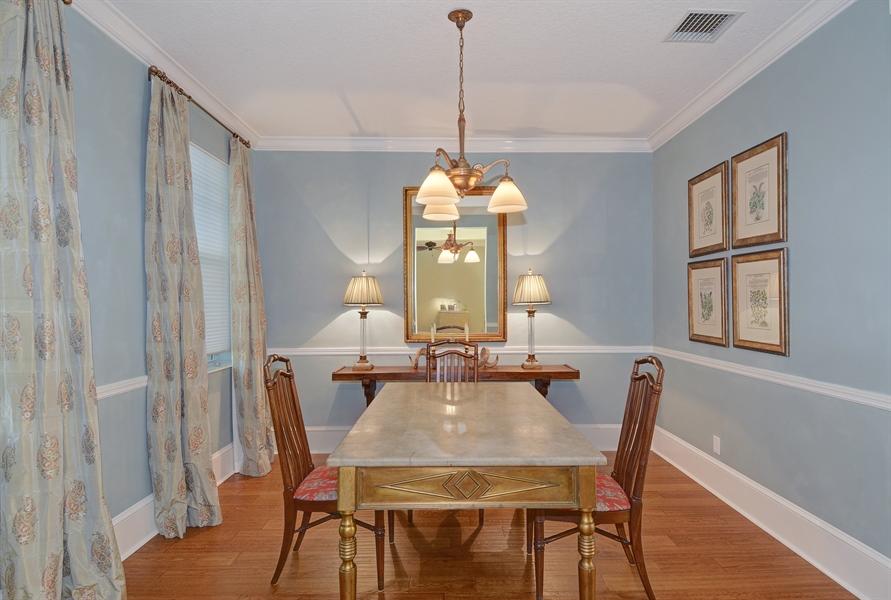 Real Estate Photography - 102 Castries Drive, Jupiter, FL, 33458 - Dining Room