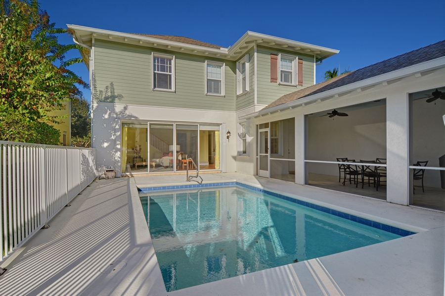 Real Estate Photography - 102 Castries Drive, Jupiter, FL, 33458 - Pool