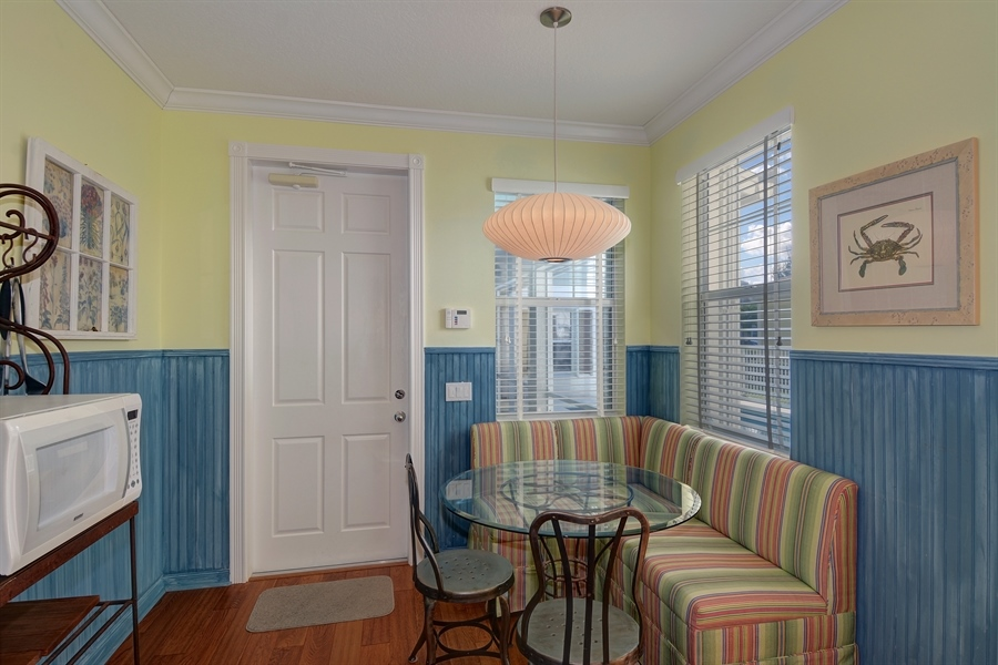 Real Estate Photography - 102 Castries Drive, Jupiter, FL, 33458 - Breakfast Area