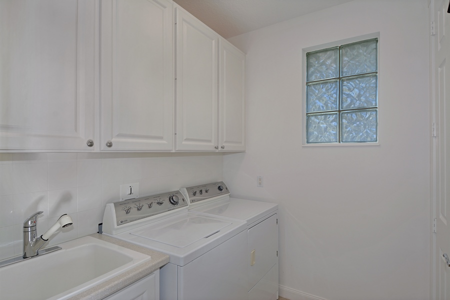 Real Estate Photography - 102 Castries Drive, Jupiter, FL, 33458 - Laundry Room