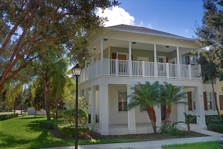 Real Estate Photography - 102 Castries Drive, Jupiter, FL, 33458 - Front View