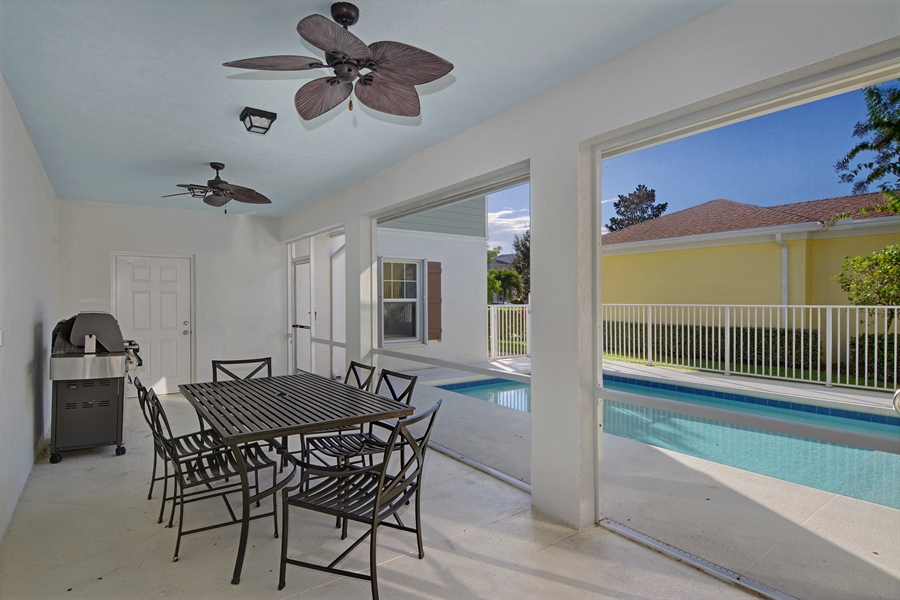 Real Estate Photography - 102 Castries Drive, Jupiter, FL, 33458 - Patio