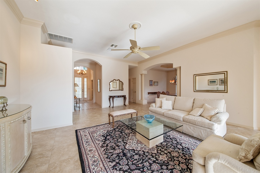 Real Estate Photography - 27197 Shell Ridge Cir, Bonita Springs, FL, 34134 - Living Room