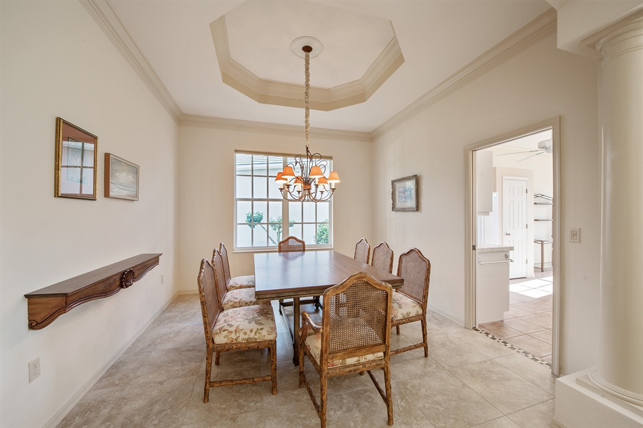 Real Estate Photography - 27197 Shell Ridge Cir, Bonita Springs, FL, 34134 - Dining Room