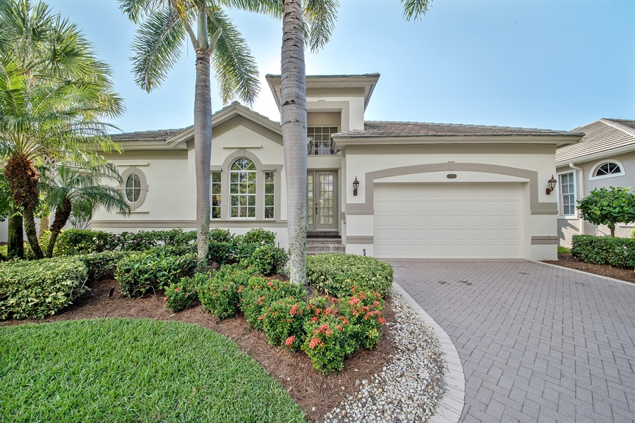 Real Estate Photography - 27197 Shell Ridge Cir, Bonita Springs, FL, 34134 - Front View