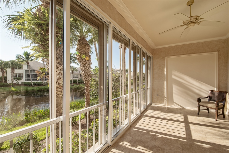 Real Estate Photography - 27197 Shell Ridge Cir, Bonita Springs, FL, 34134 - Sun Room