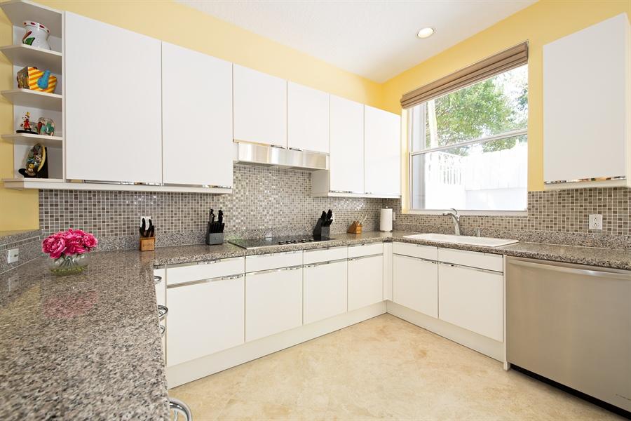Real Estate Photography - 20808 NE 37th Ave, Aventura, FL, 33180 - Kitchen