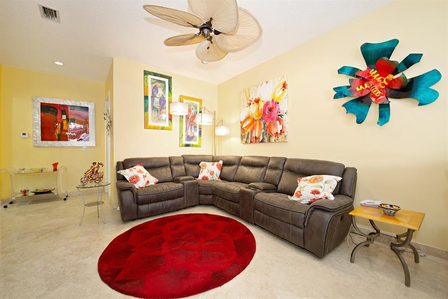 Real Estate Photography - 20808 NE 37th Ave, Aventura, FL, 33180 - Family Room