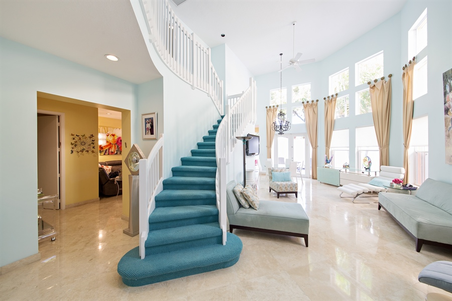 Real Estate Photography - 20808 NE 37th Ave, Aventura, FL, 33180 - Entryway