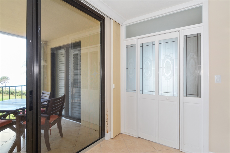Real Estate Photography - 100 Ocean Trail, Unit 301, Jupiter, FL, 33477 - Living Room