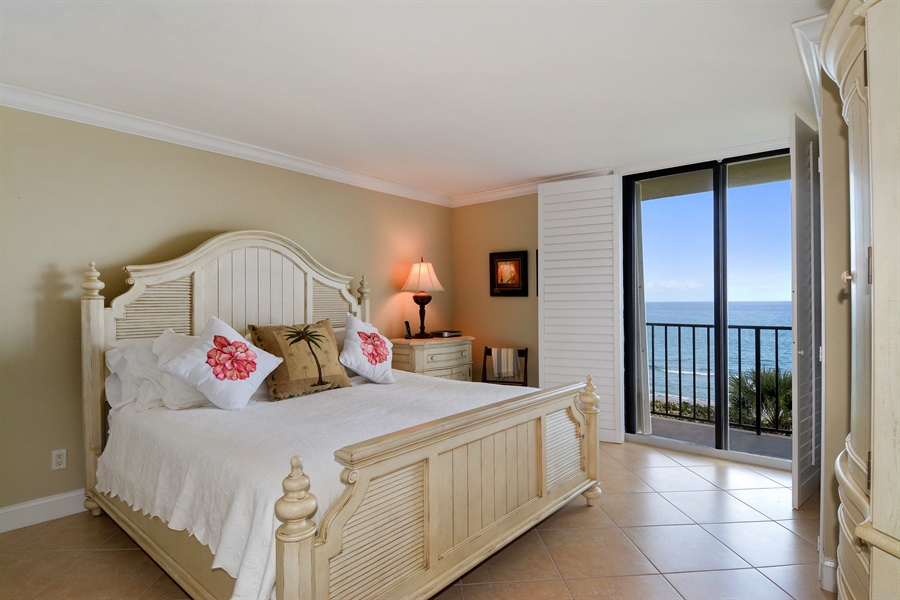 Real Estate Photography - 100 Ocean Trail, Unit 301, Jupiter, FL, 33477 - 2nd Bedroom