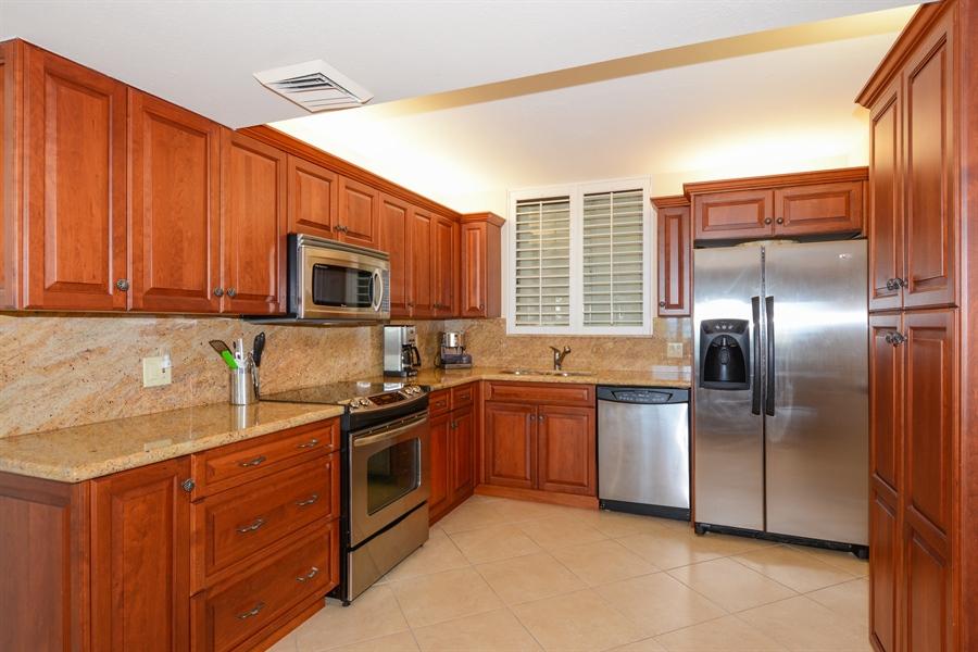 Real Estate Photography - 100 Ocean Trail, Unit 301, Jupiter, FL, 33477 - Kitchen