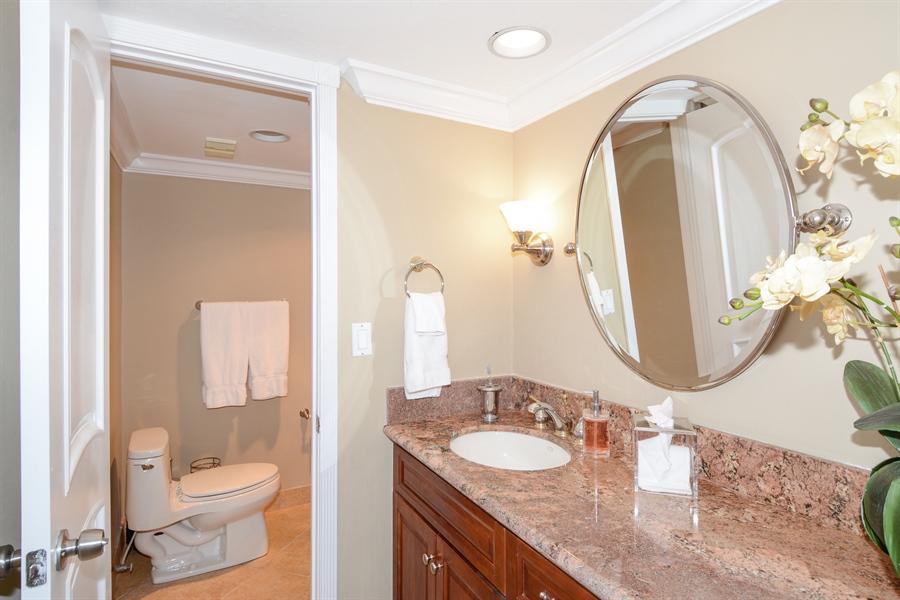 Real Estate Photography - 100 Ocean Trail, Unit 301, Jupiter, FL, 33477 - 2nd Bathroom