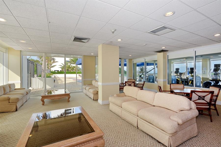Real Estate Photography - 2800 S Ocean Blvd, Common Areas, Boca Raton, FL, 33432 - North Lounge