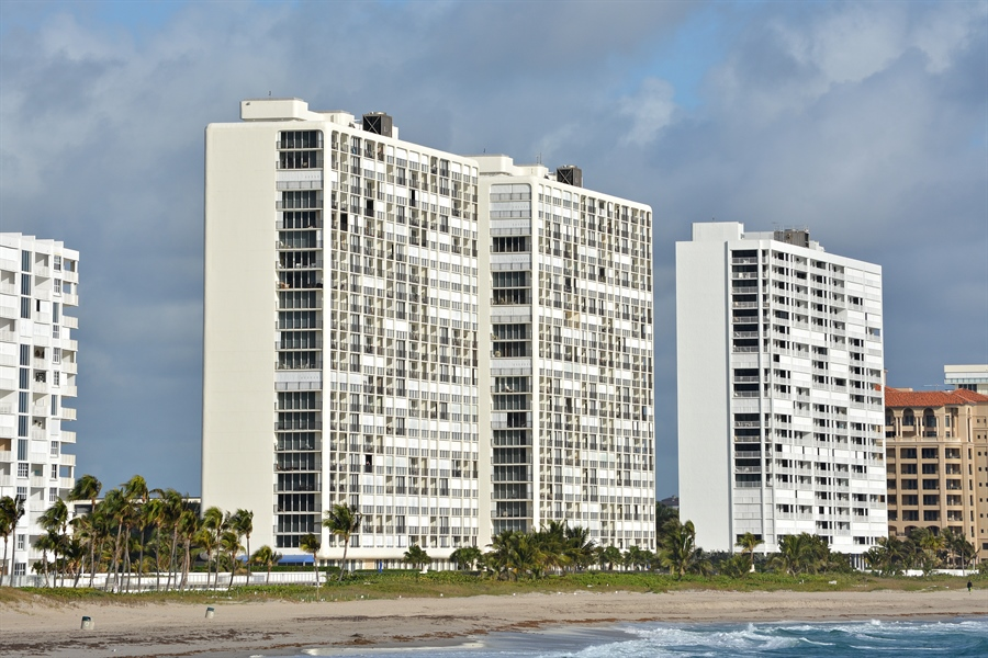 Real Estate Photography - 2800 S Ocean Blvd, Common Areas, Boca Raton, FL, 33432 - As seen from SEA
