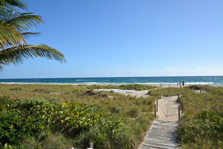 Real Estate Photography - 2600 S Ocean Blvd, Common Areas, Boca Raton, FL, 33432 - Steps to the BEACH