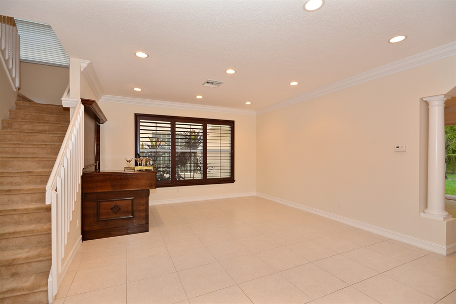 Real Estate Photography - 11186 Millpond Greens Dr, Boynton Beach, FL, 33473 - Living Room