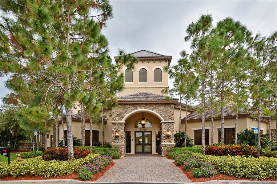 Real Estate Photography - 11186 Millpond Greens Dr, Boynton Beach, FL, 33473 - Clubhouse