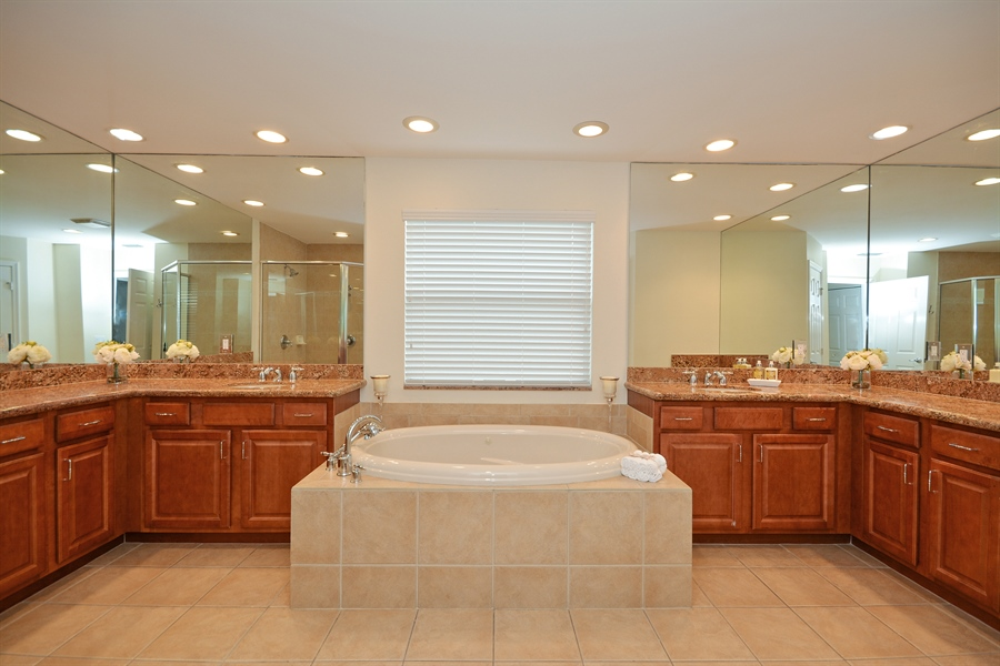Real Estate Photography - 11186 Millpond Greens Dr, Boynton Beach, FL, 33473 - Master Bathroom