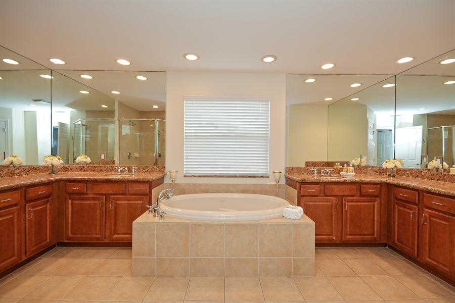 Real Estate Photography - 11186 Millpond Greens Dr, Boynton Beach, FL, 33473 - Master Bathroom