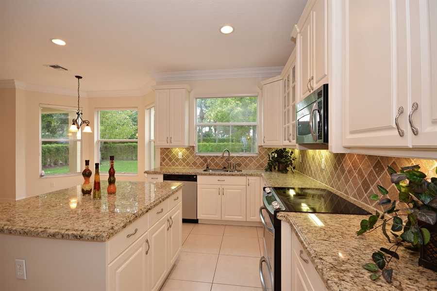 Real Estate Photography - 11186 Millpond Greens Dr, Boynton Beach, FL, 33473 - Kitchen