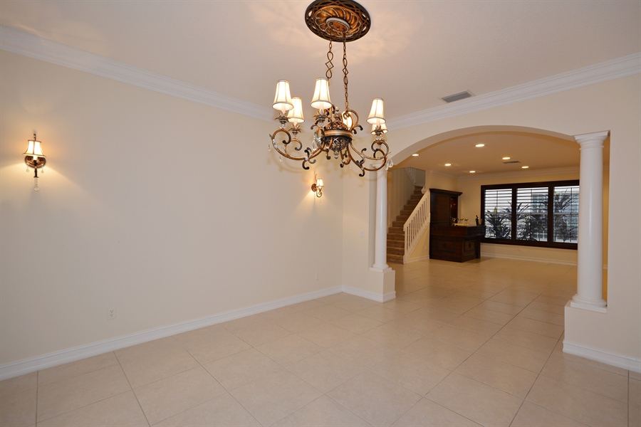 Real Estate Photography - 11186 Millpond Greens Dr, Boynton Beach, FL, 33473 - Dining Room