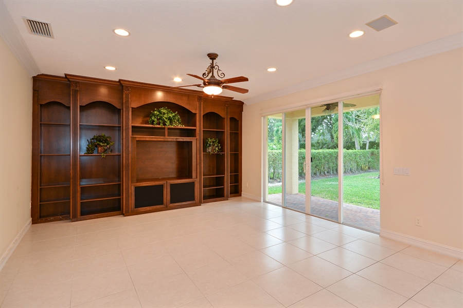 Real Estate Photography - 11186 Millpond Greens Dr, Boynton Beach, FL, 33473 - Family Room