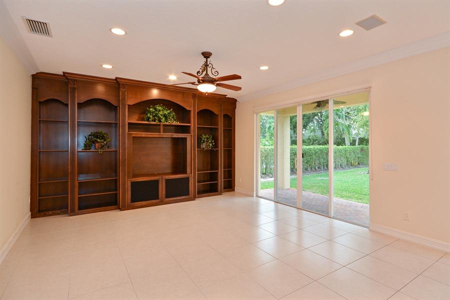 Real Estate Photography - 11186 Millpond Greens Dr, Boynton Beach, FL, 33473 - Family Room