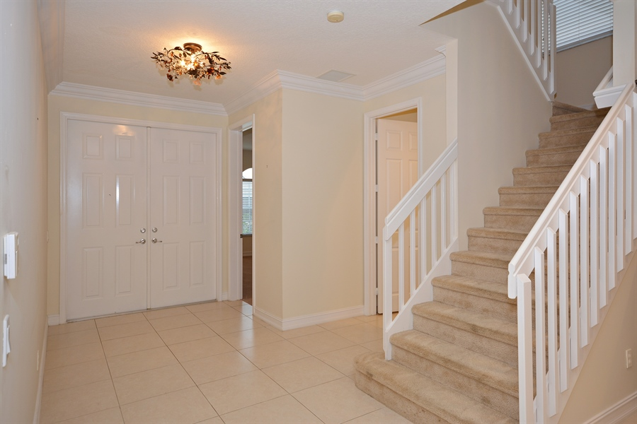 Real Estate Photography - 11186 Millpond Greens Dr, Boynton Beach, FL, 33473 - Foyer