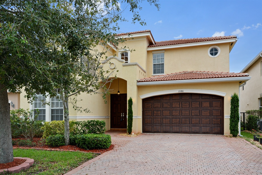 Real Estate Photography - 11186 Millpond Greens Dr, Boynton Beach, FL, 33473 - Front View