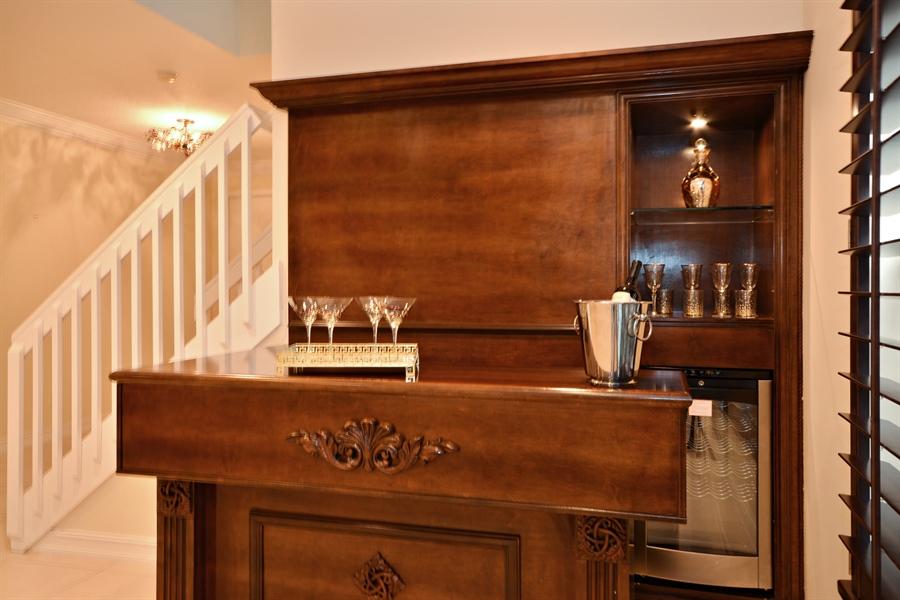 Real Estate Photography - 11186 Millpond Greens Dr, Boynton Beach, FL, 33473 - Bar