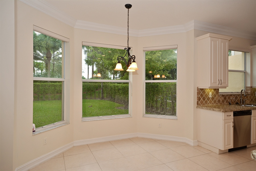 Real Estate Photography - 11186 Millpond Greens Dr, Boynton Beach, FL, 33473 - Breakfast Nook