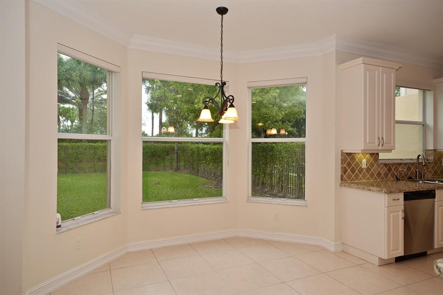 Real Estate Photography - 11186 Millpond Greens Dr, Boynton Beach, FL, 33473 - Breakfast Nook